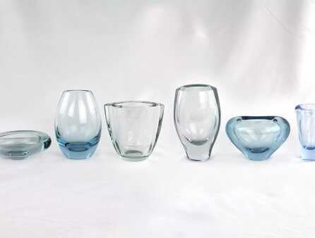 Vintage glass - clear