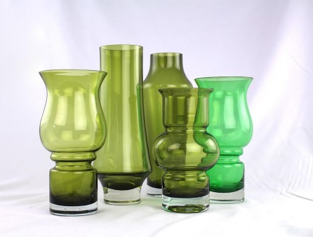 Vintage glass - green