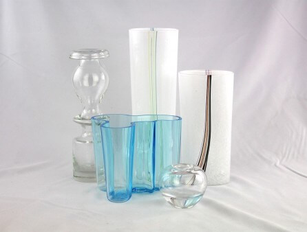 Vintage glass - blue